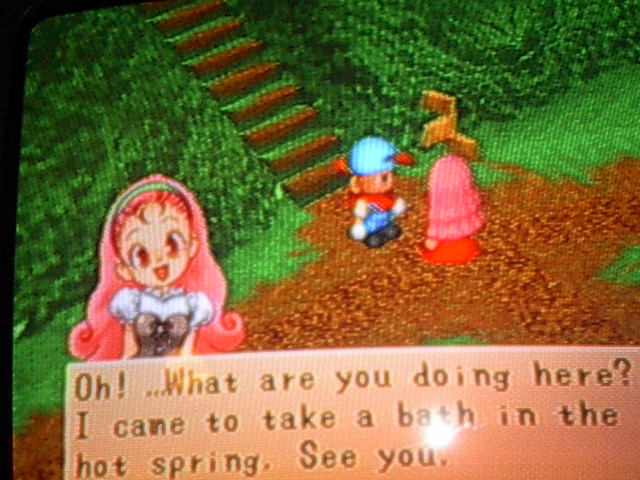 Content / Harvest Moon: Back to Nature / Goddess - Harvest Moon Paradise