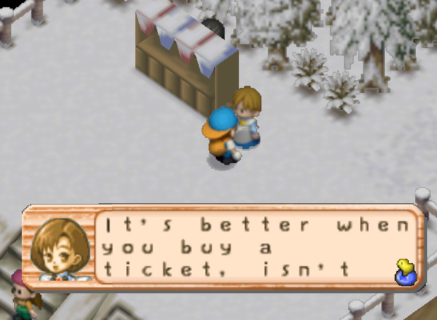 Content / Harvest Moon 64 / Winter Day 18 Dog Race - Harvest